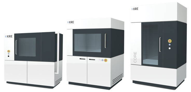 XRE X-ray CT scanner UniTOM DynaTOM CoreTOM